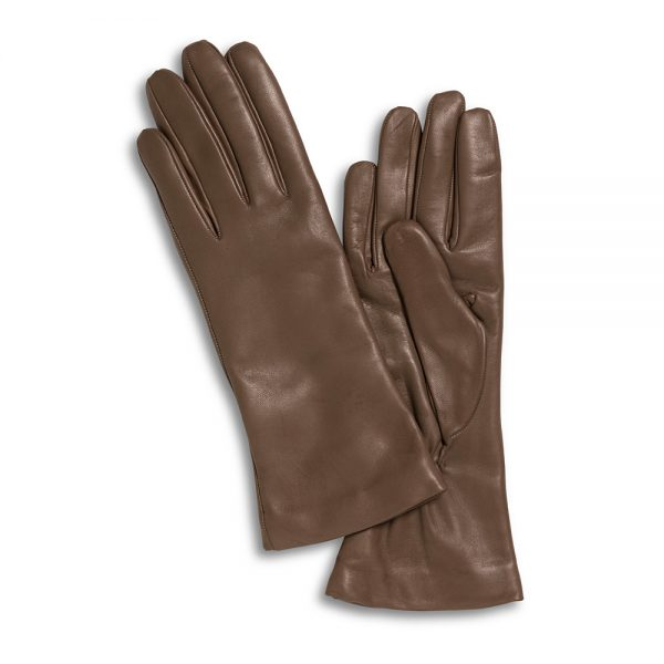 Lamslederen handschoenen