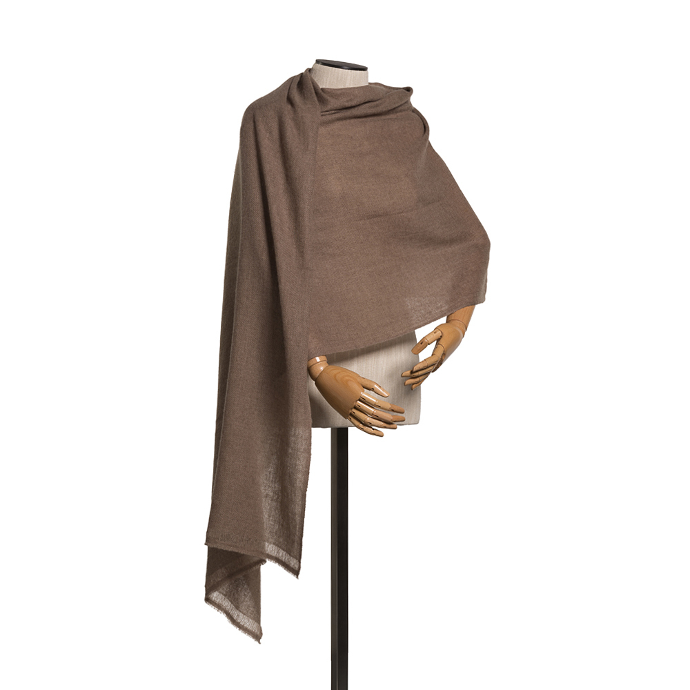 Pashmina Natural Brown