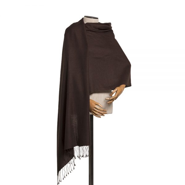 Pashmina Chocolate Brown