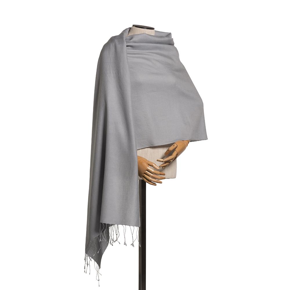 Pashmina Silver Grey